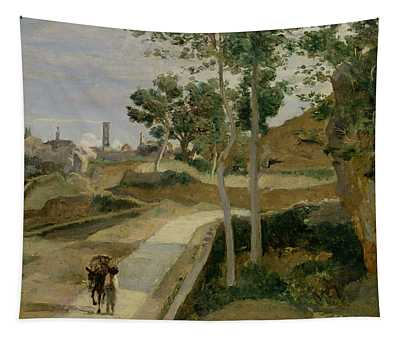 Road From Volterra Tapestry