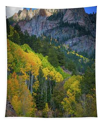 Road To Silver Mountain Tapestry