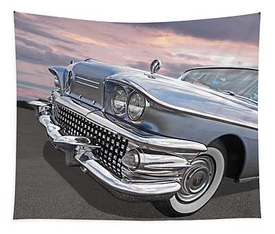 Roadmaster At Sunset Tapestry