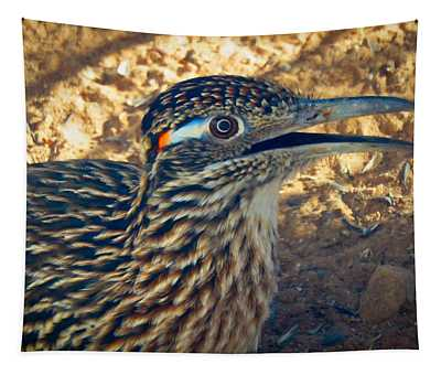 Roadrunner Portrait Tapestry