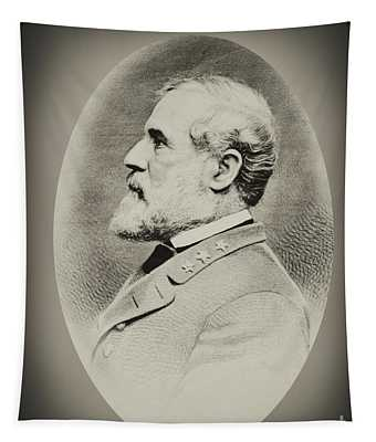 Robert E Lee - Csa Tapestry