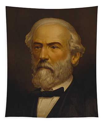 Robert E. Lee Painting Tapestry