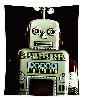 Robotic Spaceman Tapestry