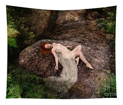 Rock Bathing Tapestry