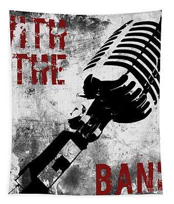 Rock N Roll Microphone  Tapestry
