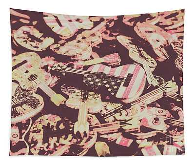 Rock World Tour Tapestry