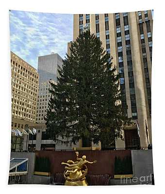 Rockefeller Center Christmas Tree Tapestry