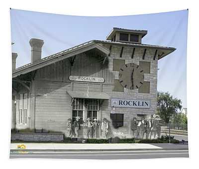 Rocklin Depot Tapestry