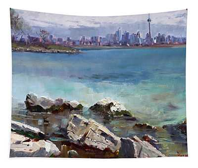 Rocks N' The City Tapestry