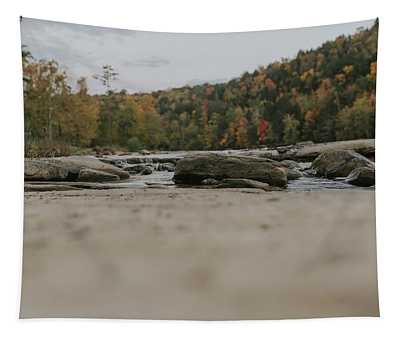Rocks On Cumberland River Tapestry