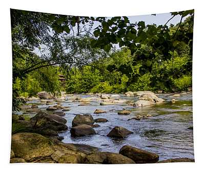 Rocky Broad River Tapestry