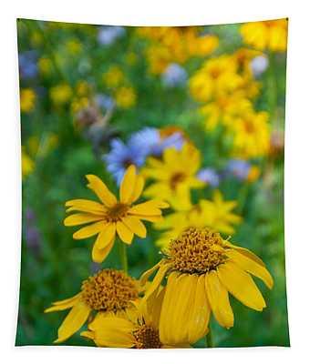 Rocky Mountain Wildflowers Tapestry