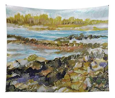 Rocky Shore Tapestry