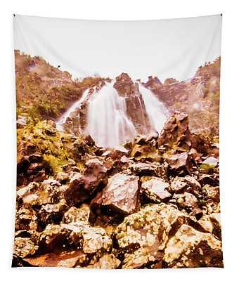 Rocky Water Wilderness Tapestry