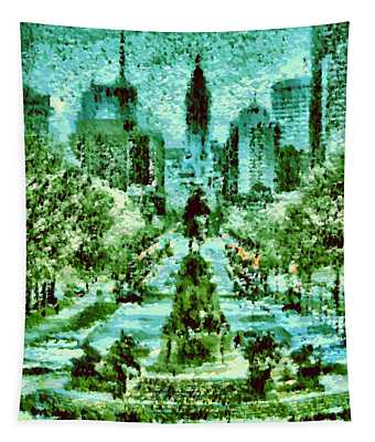Rocky's View Tapestry