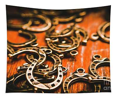 Rodeo Abstract Tapestry