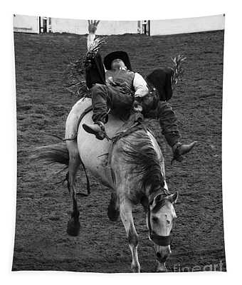 Rodeo Bareback Riding 13 Tapestry