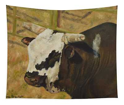 Rodeo Bull 6 Tapestry