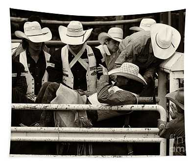 Rodeo Land Of The Stetson Tapestry