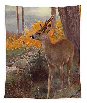 Roe Deer Tapestry