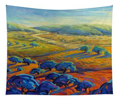 Rolling Hills 3 Tapestry
