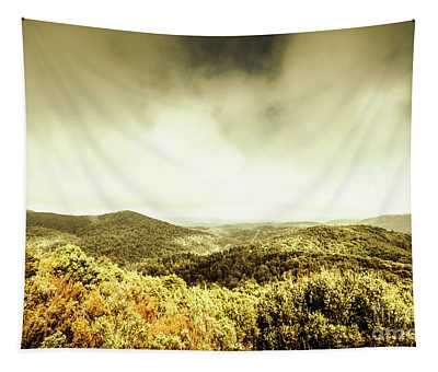 Rolling Hills Of The Tarkine, Tasmania Tapestry