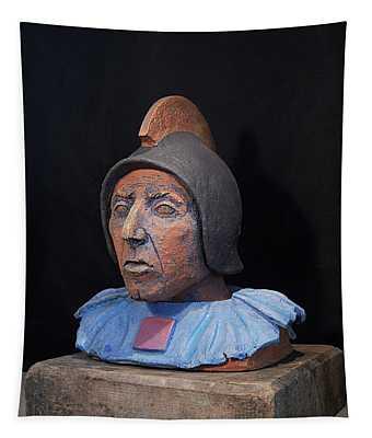 Roman Warrior Roemer - Roemer Nettersheim Eifel - Military Of Ancient Rome - Bust - Romeinen Tapestry