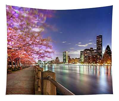 Romantic Blooms Tapestry