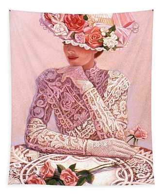 Romantic Lady Tapestry