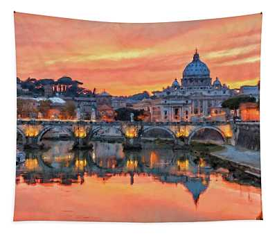 Rome And The Vatican City - 01  Tapestry