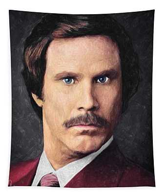 Ron Burgundy Tapestry