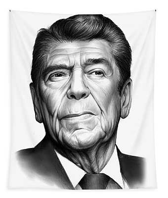 Ronald Reagan Tapestry
