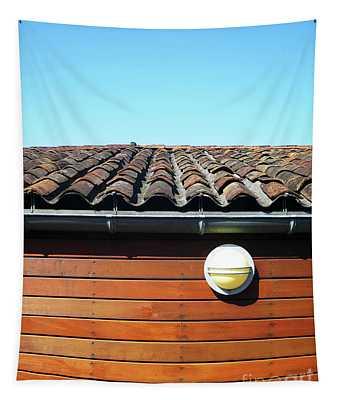 Roofline Ripples Tapestry