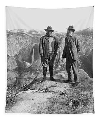 Roosevelt & Muir Tapestry