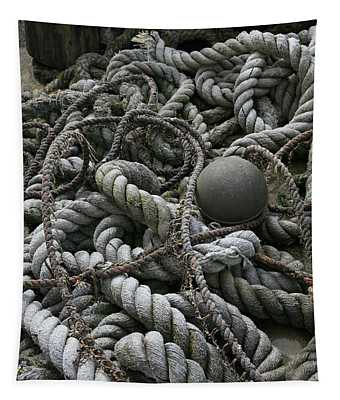 Ropes And Lines Tapestry