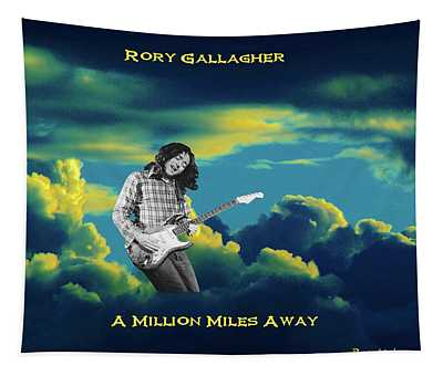 Million Miles Away Tapestry
