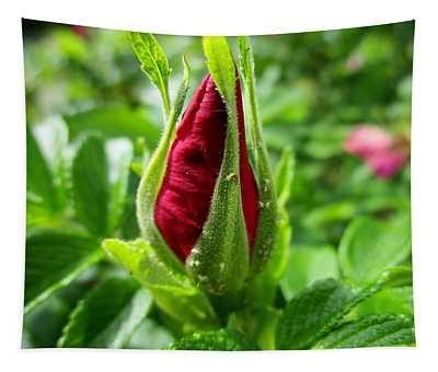 Rose Bud Tapestry