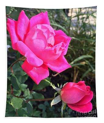 Rose Duet Tapestry