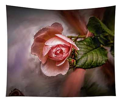 Rose On Paint #g5 Tapestry