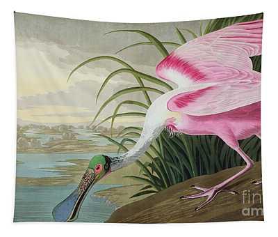 Spoonbill Paintings Wall Tapestries