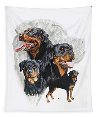 Rottweiler Medley Tapestry