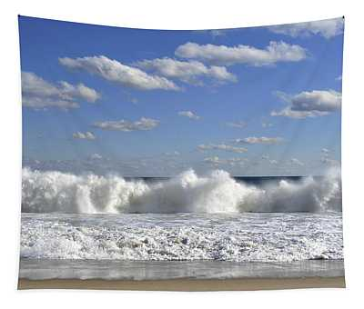 Rough Surf Jersey Shore  Tapestry