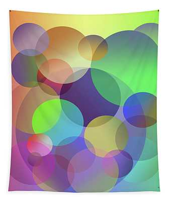 Round And Round - Abstract Tapestry