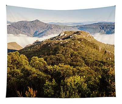 Round Mountain Lookout Tapestry