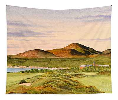 Royal County Down Golf Course Tapestry