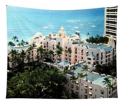 Royal Hawaiian Hotel  Tapestry