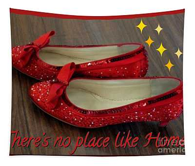 Ruby Slippers Tapestry
