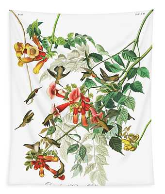 Ruby-throated Humming Bird Tapestry
