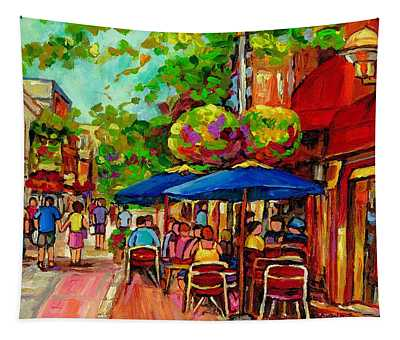 Rue Prince Arthur Montreal Tapestry