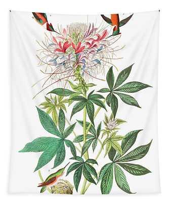 Ruff-necked Humming-bird Tapestry